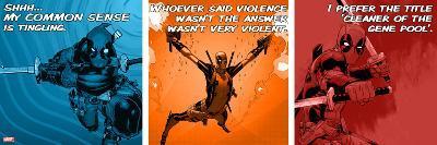 Deadpool - Deadpool-isms--Art Print