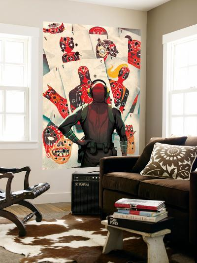 Deadpool Kills Deadpool #1 Cover: Deadpool-Mike Del Mundo-Wall Mural