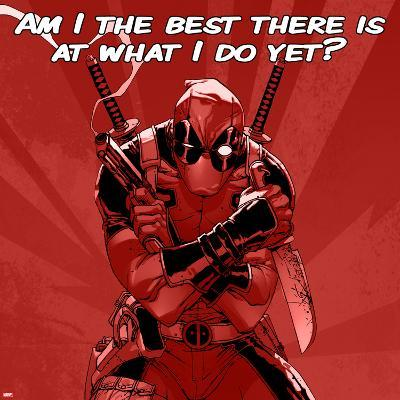 Deadpool - The Best There Is at What I Do Square--Art Print