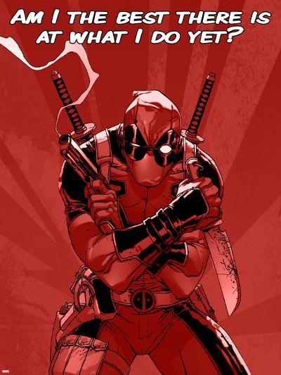 Deadpool - The Best There Is--Art Print