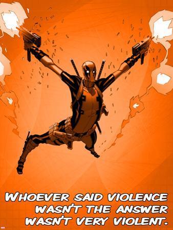 Deadpool - Violence