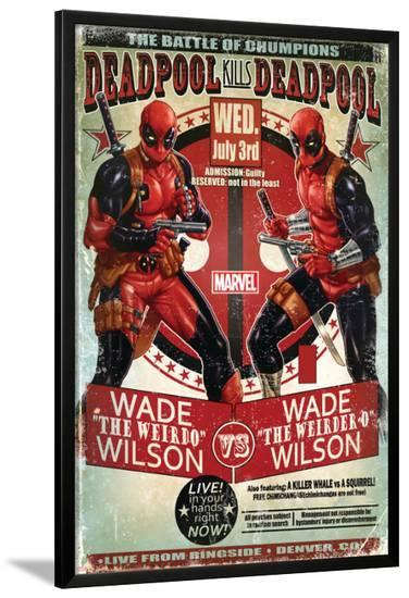 Deadpool--Lamina Framed Poster