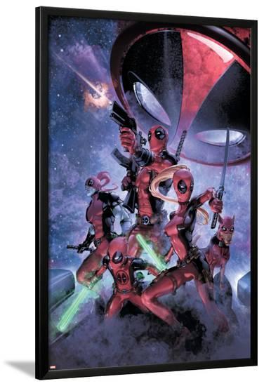 Deadpool--Lamina Framed Poster