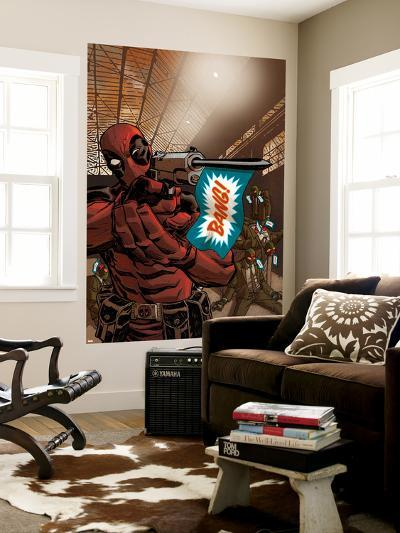 Deadpool--Wall Mural