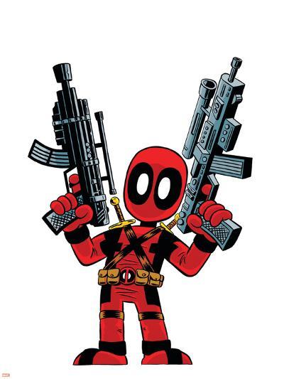 Deadpool--Art Print