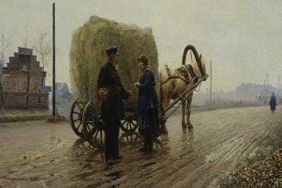 Deal, 1889-Nikolai Alexeyevich Kasatkin-Giclee Print