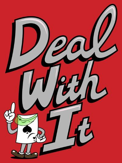 Deal with It-Steven Wilson-Giclee Print