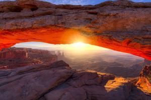 Mesa Arch at Sunrise by Dean Fikar