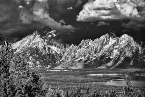 Ominous Storm Clouds over the Tetons by Dean Fikar