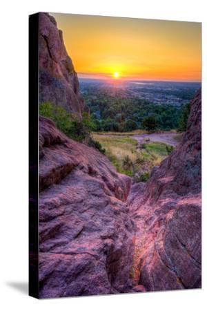 Sunrise over Boulder, Co