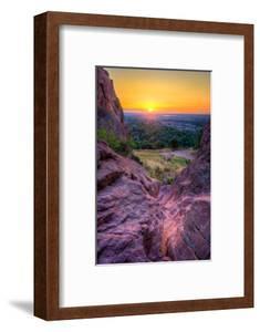 Sunrise over Boulder, Co by Dean Fikar