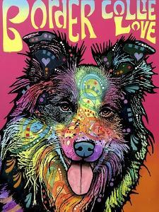 Border Collie Luv by Dean Russo