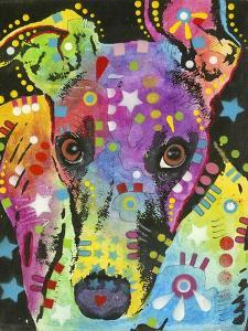 Curious Greyhound by Dean Russo