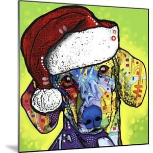 Dachshund Christmas by Dean Russo