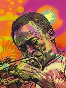 Miles Davis by Dean Russo- Exclusive