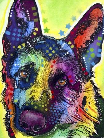 German Shepherd by Dean Russo