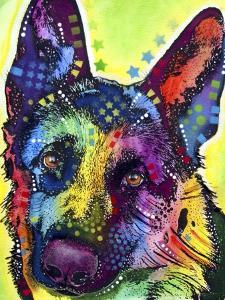 German Shepherd by Dean Russo