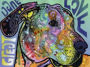 Great Dane Luv by Dean Russo
