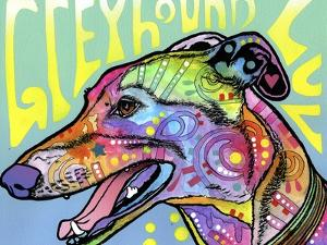 Greyhound Luv by Dean Russo