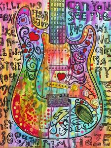 Jimmies Guitar by Dean Russo