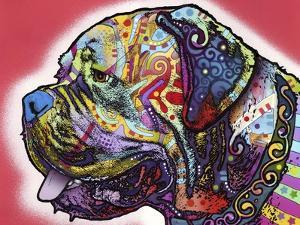 Profile Mastiff by Dean Russo