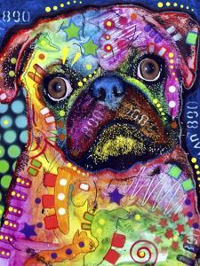 Pug by Dean Russo