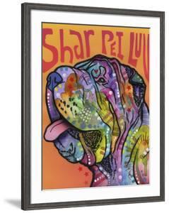 Shar Pei Love by Dean Russo