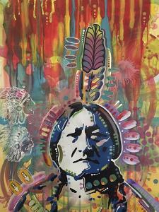 Sitting Bull 1 by Dean Russo