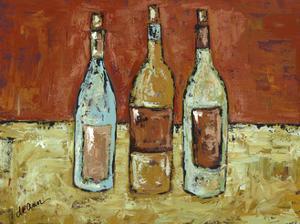 In Vino Veritas II by Deann Hebert