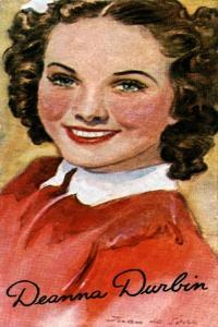 Deanna Durbin, (1921-199), Singer and Actress in Hollywood Films of the 1930S and 1940S