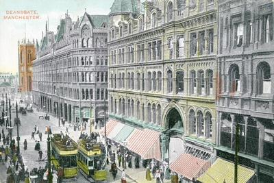 Deansgate, Manchester--Giclee Print