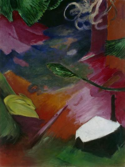 Dear in the Forest I, 1911-Franz Marc-Giclee Print