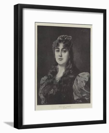 Dear Lady Disdain-Nathaniel Sichel-Framed Giclee Print