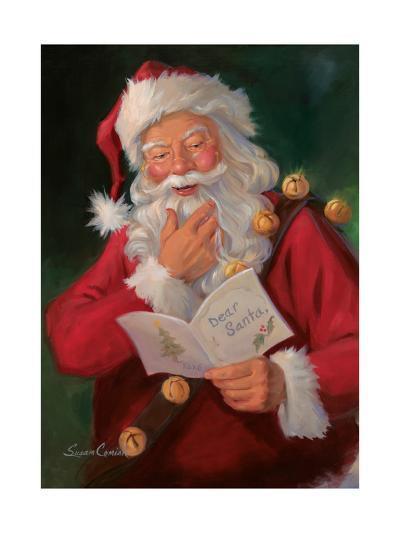 Dear Santa-Susan Comish-Art Print