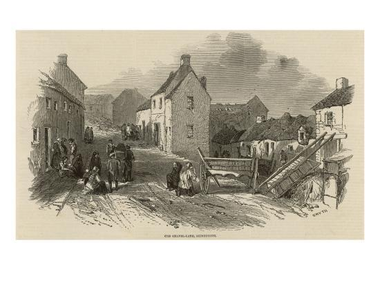 Death and Disease in Skibbereen, Ireland--Giclee Print