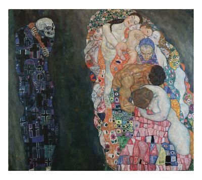 Death and Life, 1916-Gustav Klimt-Art Print