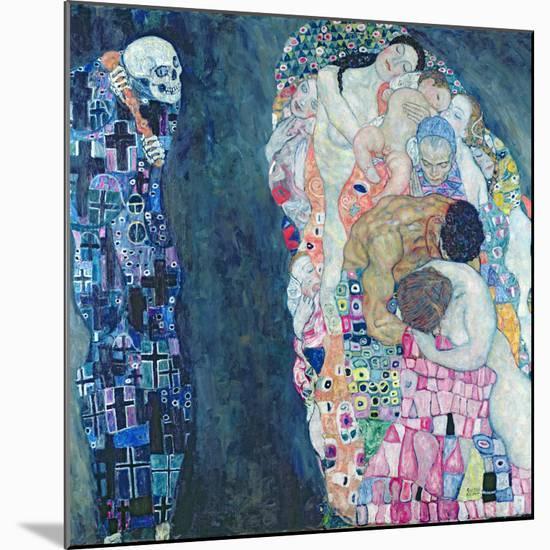 Death and Life, circa 1911-Gustav Klimt-Mounted Giclee Print