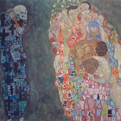 Death and Life, Completed in 1916-Gustav Klimt-Giclee Print