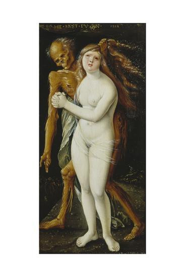 Death and the Girl, 1517-Hans Baldung-Giclee Print