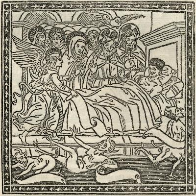 Death, from 'A Catalogue of a Collection of Engravings, Etchings and Woodcuts', by Richard…--Giclee Print