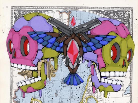 Death Grips-Ric Stultz-Giclee Print