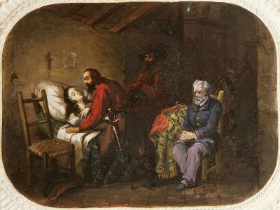 Death of Anita Garibaldi, August 4, 1849, Painting, Italy--Giclee Print