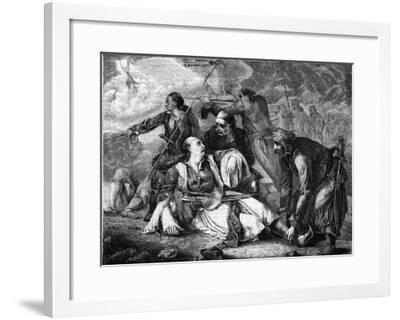 Death of Botsaris--Framed Giclee Print