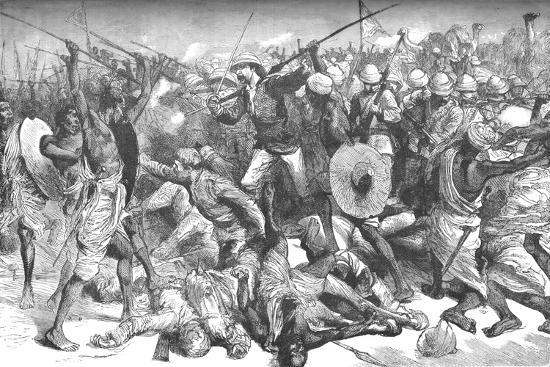 'Death of Colonel Burnaby', c1885-Unknown-Giclee Print
