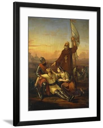 Death of Crusader-Francesco Saverio Altamura-Framed Giclee Print