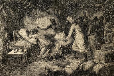 Death of David Livingstone (1813-1873)--Giclee Print