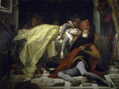 Death of Francesca de Rimini and Paolo Malatesta-Alexandre Cabanel-Giclee Print