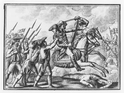 Death of General Joubert at the Battle of Novi, 1799-L.f. Labrousse-Giclee Print
