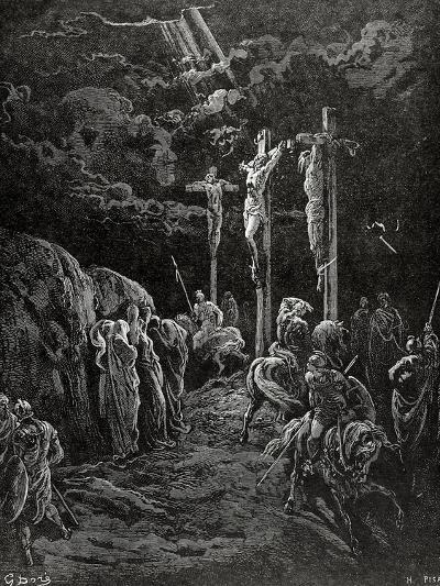 Death of Jesus Christ--Giclee Print
