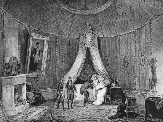 Death of Joséphine De Beauharnais on 29th May 1814, 1829-Jean Louis Tirpenne-Giclee Print
